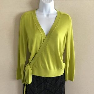 👗NWT Ann Taylor Tie Sweater S